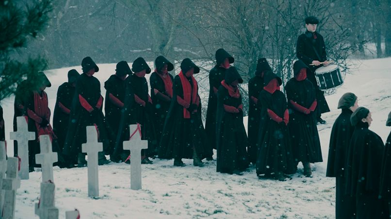 handsmaid Heres our first look at The Handmaids Tale season two, which arrives on Hulu in April