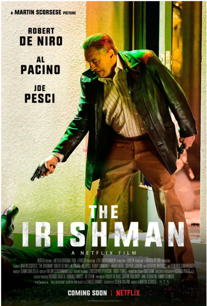 screen shot 2018 01 22 at 12 35 10 pm Heres the first official poster for Martin Scorseses The Irishman