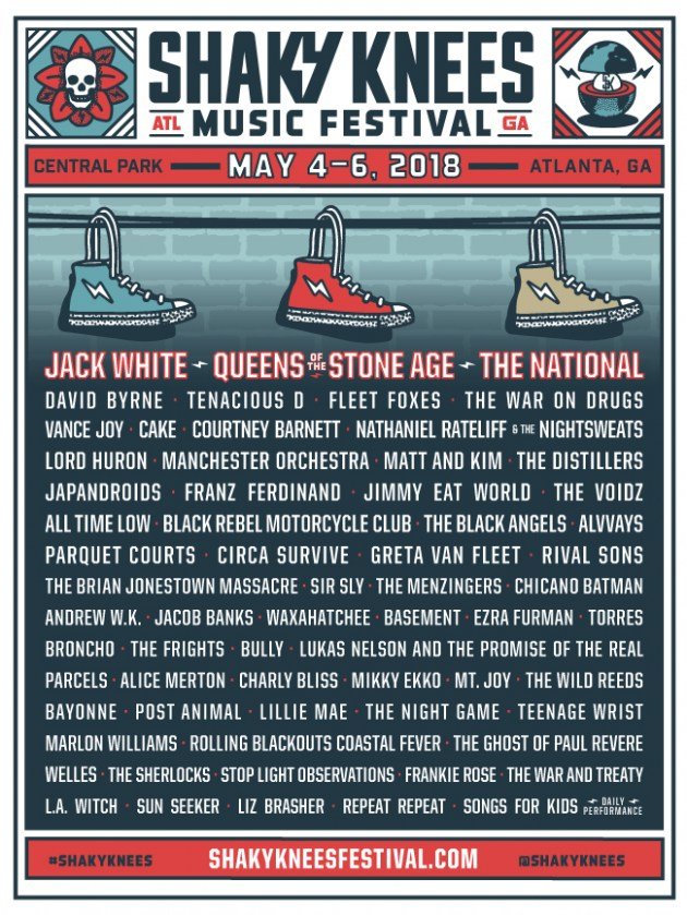 shaky knees 20181 The Big Four Shuffle: All Hail the New Music Festival Kings