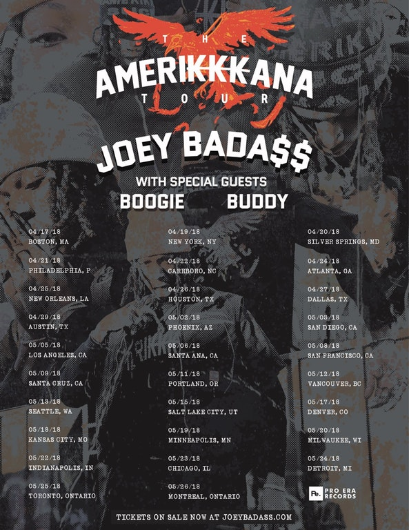 ae8g6t ejvf3hmwti1t4pyf57az9ug vu8akaaioqs4 Joey Bada$$announces Amerikkkana Tour of North America