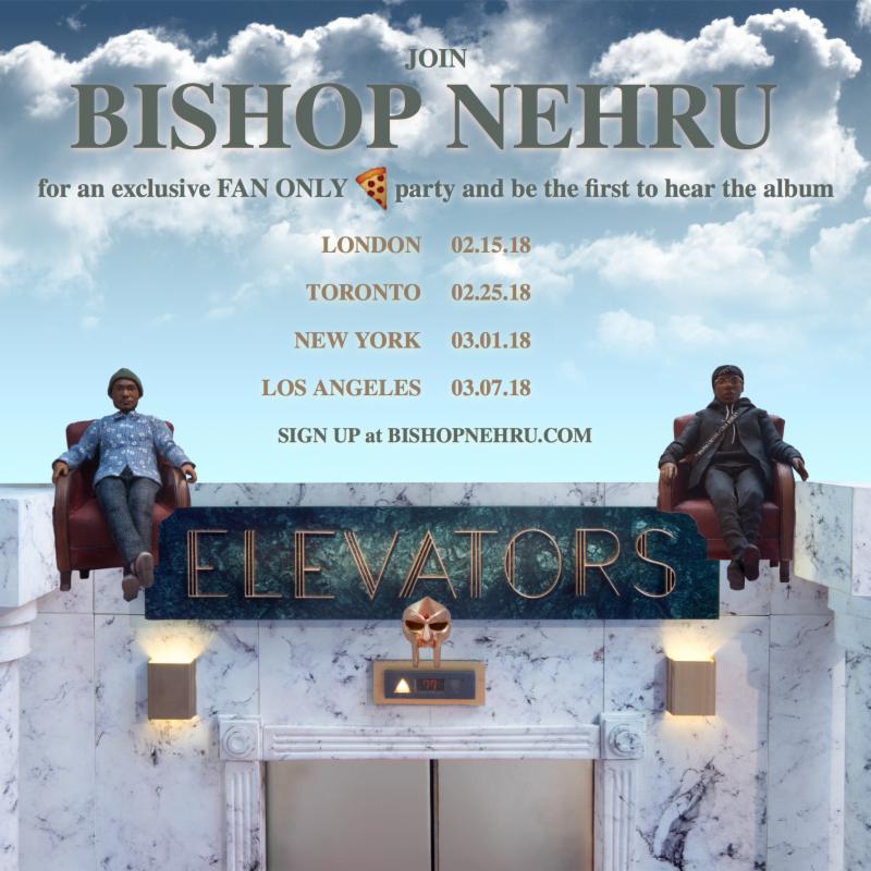 bishop nehru listening party tour Bishop Nehru announces new album featuring DOOM and Kaytranada
