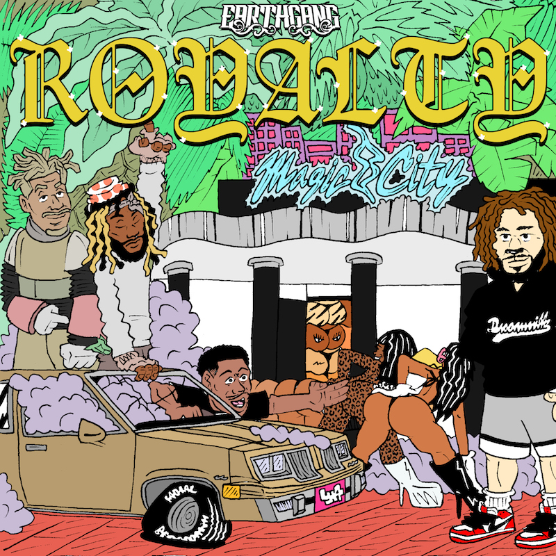 earthgang royalty ep artwork EarthGang announce new EP, Royalty, share Nothing But The Best: Stream