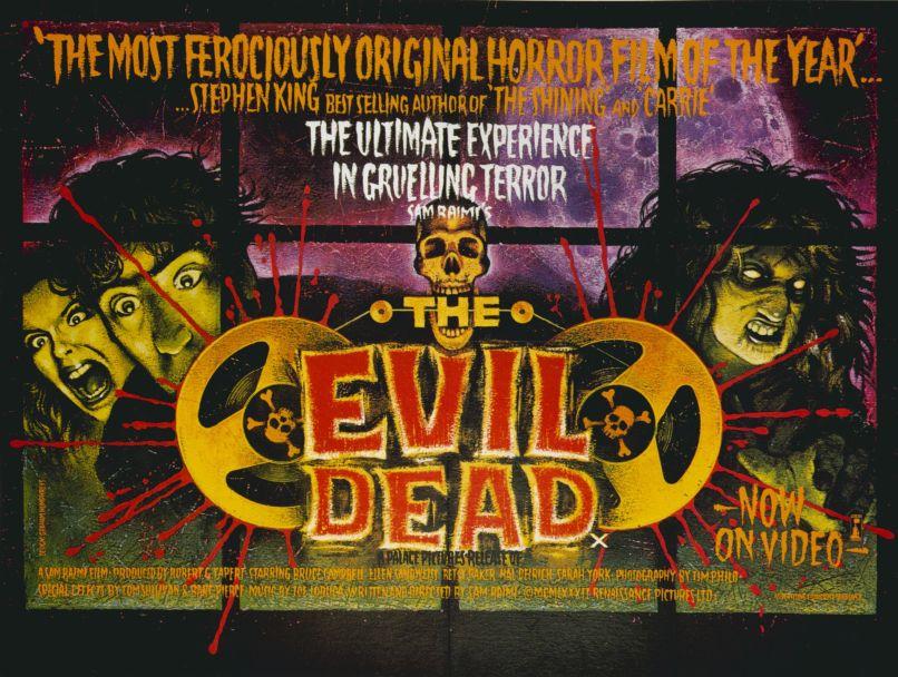 evil dead poster Bruce Campbell on How Stephen King Saved Evil Dead 2, Riding Horses, and Imitating Dino De Laurentiis