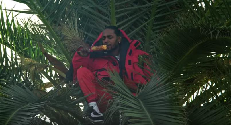 """Kendrick Lamar in """"King's Dead"""" Video"""