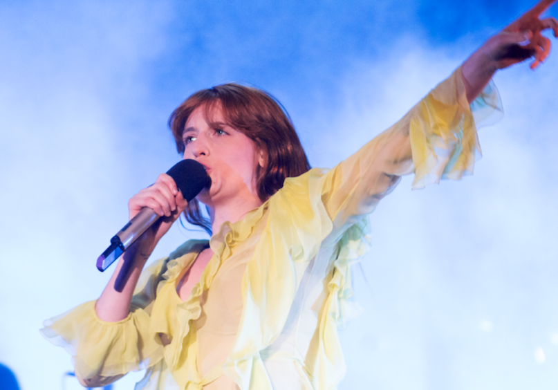 Florence and the Machine, photo by Derrick Rossignol