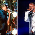 Q-Tip and Kendrick Lamar