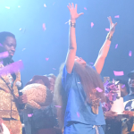 Erykah Badu birthday concert, photo by shaykei_she_ill // Instagram