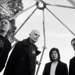 Billy Corgan, James Iha, Jimmy Chamberlin, and Jeff Schroeder of Smashing Pumpkins, photo by Olivia Bee