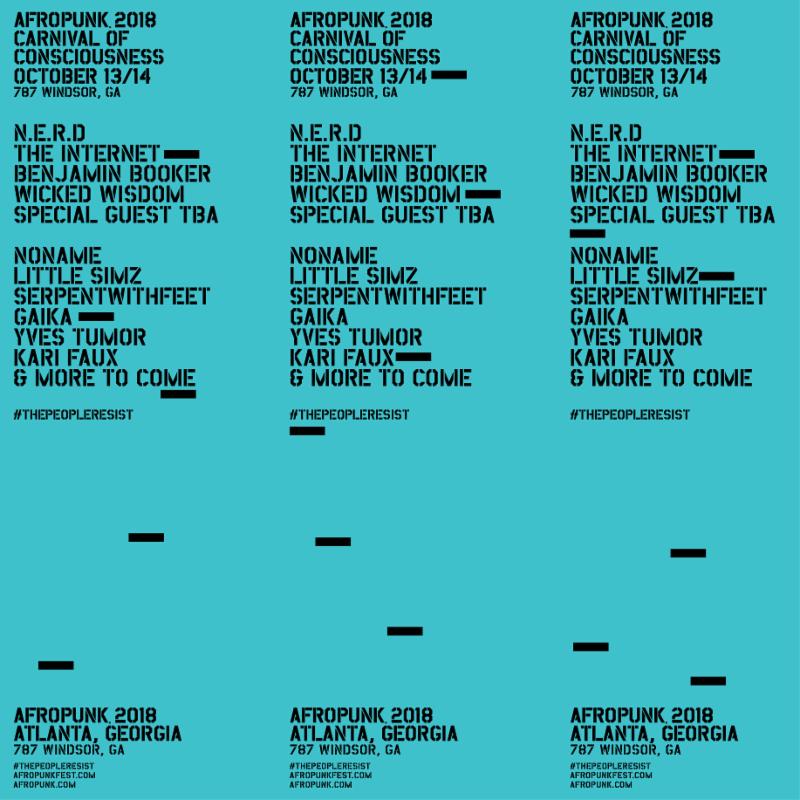 afropunk atlanta Afropunk reveals 2018 lineups for Atlanta and Brooklyn festivals