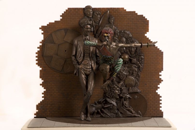 """David Bowie statue """"Earthly Messenger"""""""
