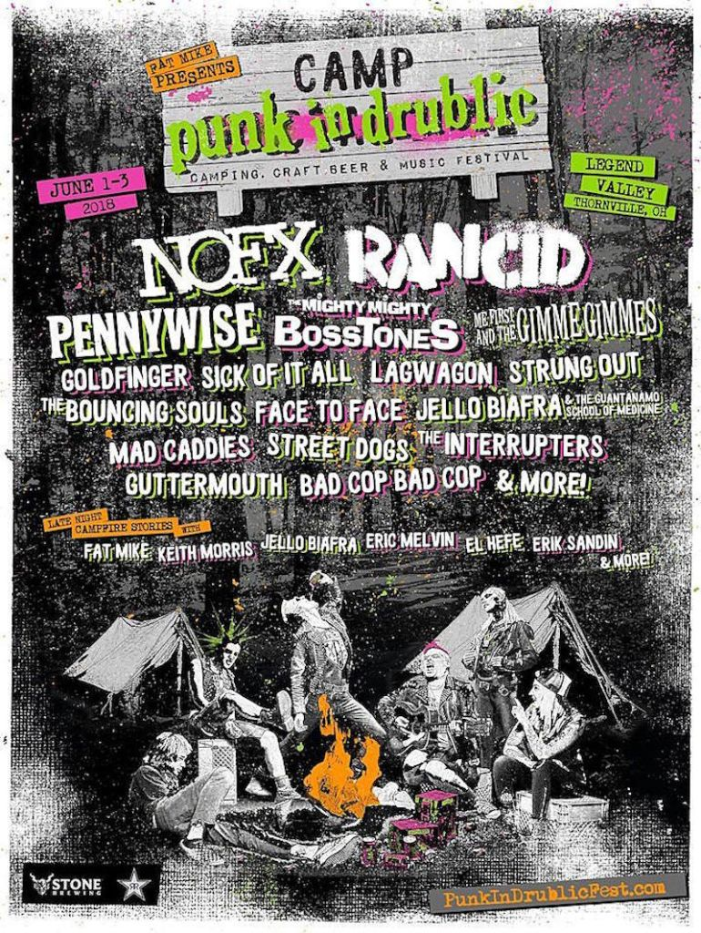 NOFXs Fat Mike announces inaugural Camp Punk in Drublic featuring Rancid, Pennywise, The Mighty Mighty Bosstones, more