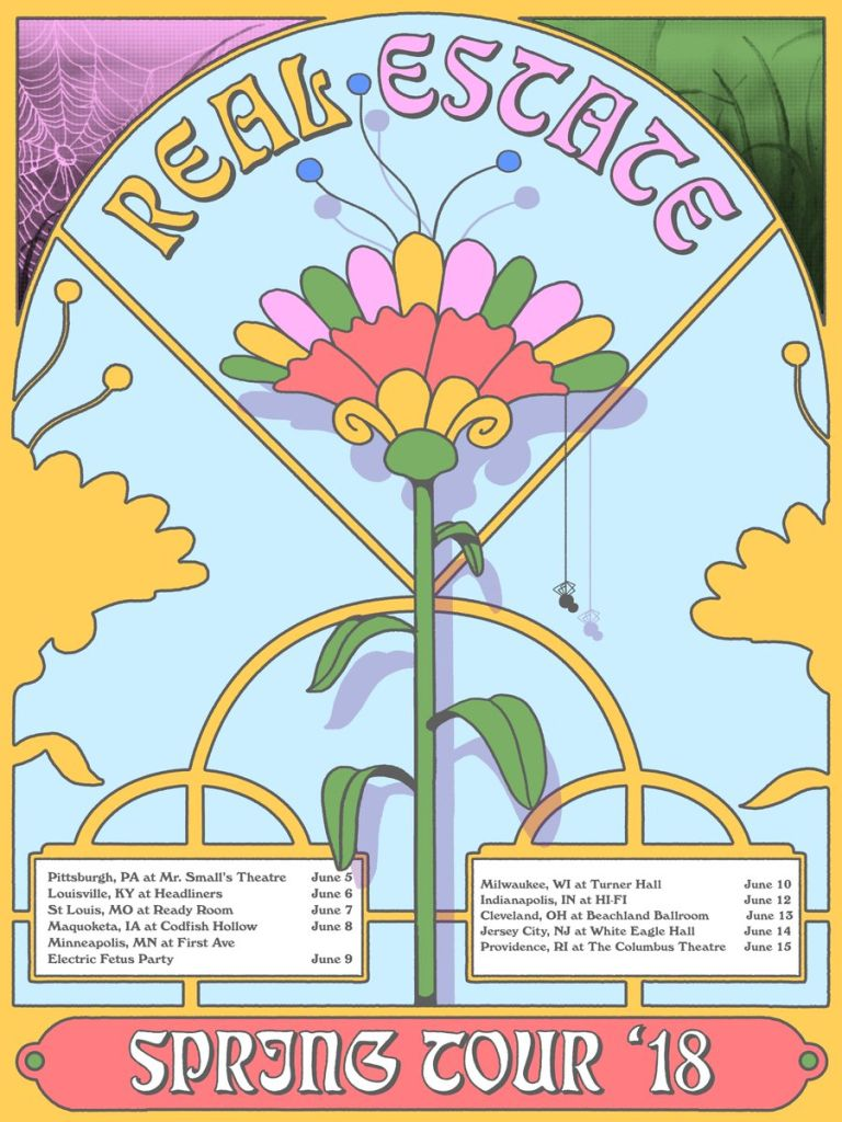 dztkaq x4aawybk Real Estate announce new US tour dates for this summer