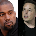 Elon Musk and Kanye West