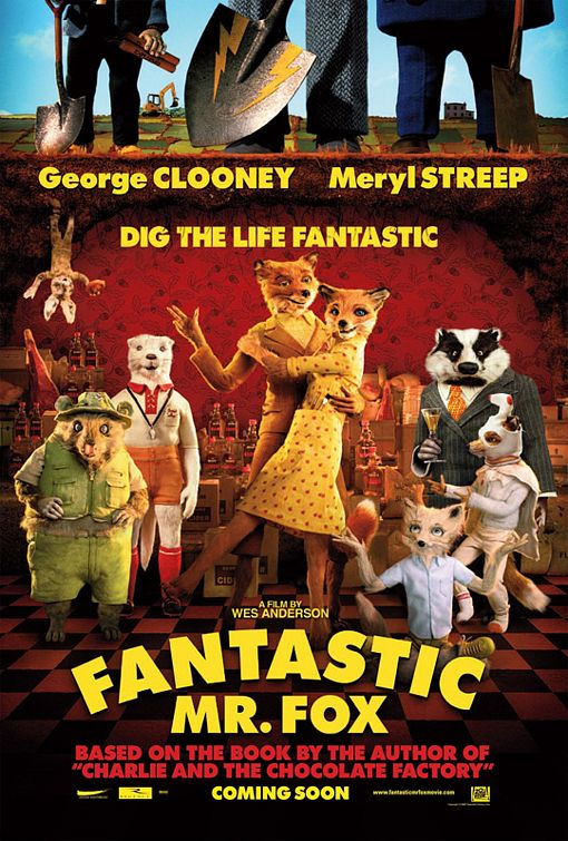 fantastic mr fox juliste Ranking: Every Wes Anderson Movie from Worst to Best