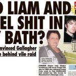 Liam and Noel Gallagher Accused of Shitting in a Bathtub