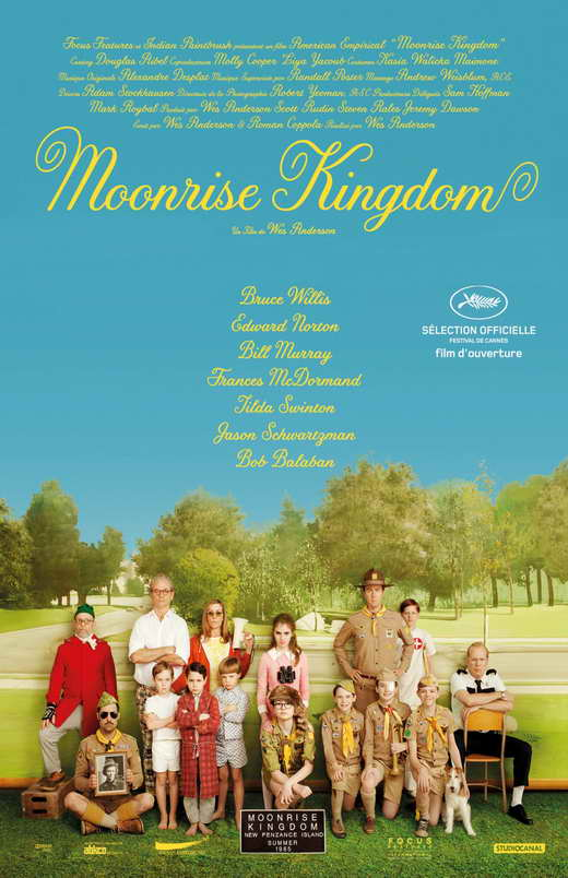 moonrise kingdom movie poster 2012 1020750674 Ranking: Every Wes Anderson Movie from Worst to Best