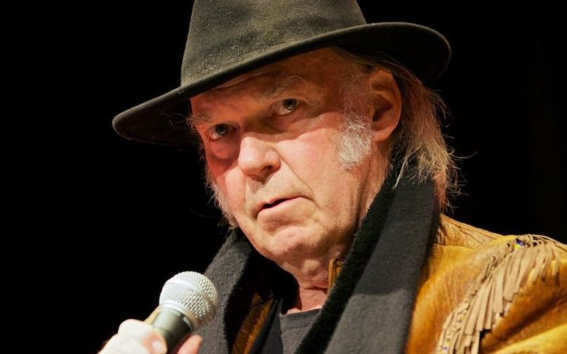 Neil Young, photo by Ryan Peterman