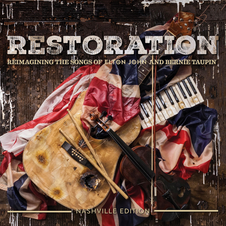restoration cover web quality1 QOTSA, Florence + the Machine, Q Tip contribute to Elton John tribute album, Revamp