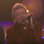 Robert Plant performs on The Late Late Show with James Corden