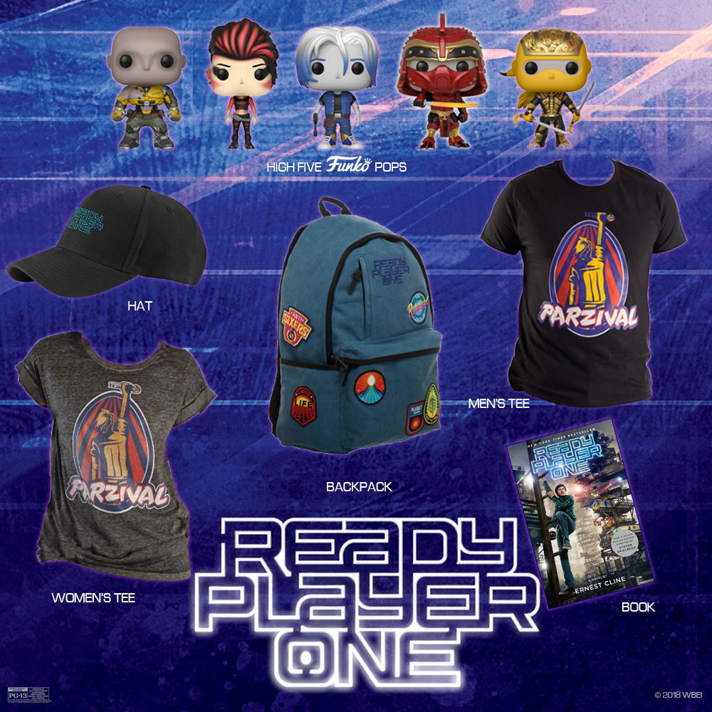 Ready Player One giveaway prize pack