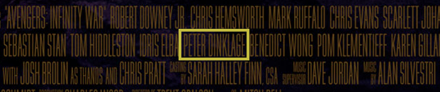 screen shot 2018 03 19 at 1 28 50 pm Peter Dinklage confirmed for Avengers: Infinity War