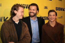 Caleb Landry Jones, AJ Edwards, and Tye Sheridan // Friday's Child, photo by Heather Kaplan
