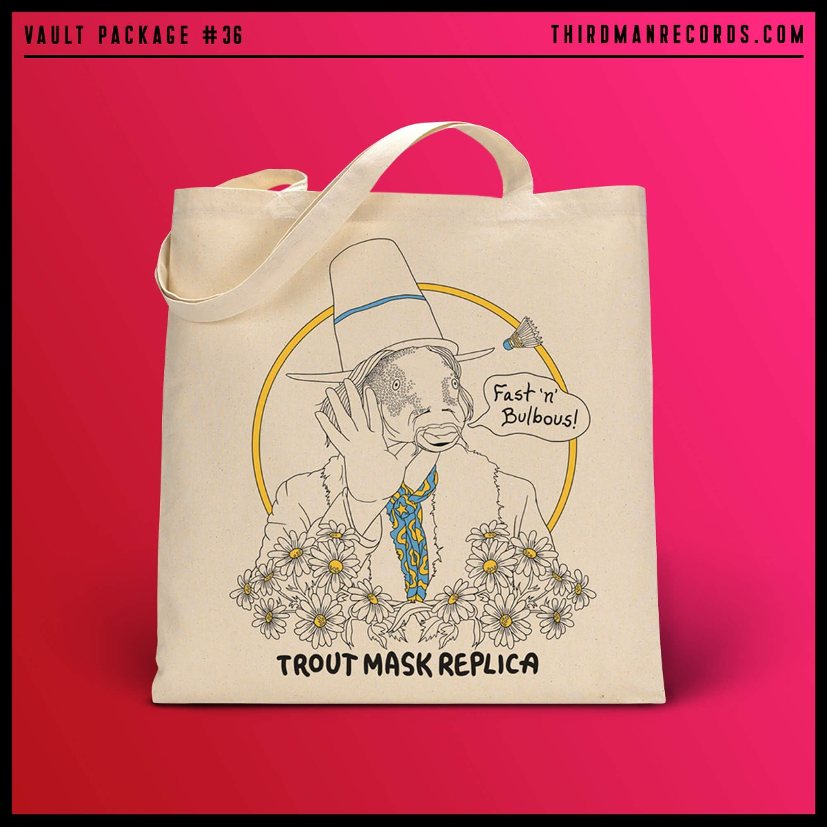7 vault36 webmockup retina tote Captain Beefhearts Trout Mask Replica gets reissue from Jack Whites Third Man Records