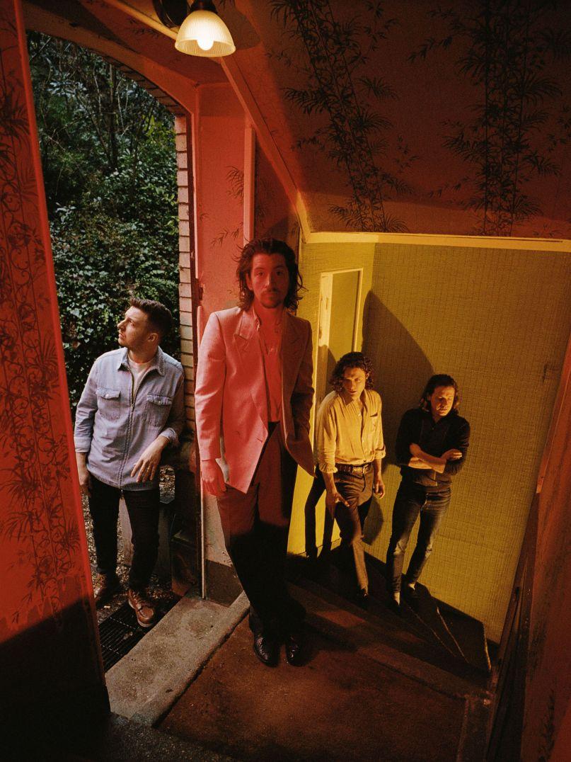 Arctic Monkeys, photo by Zackery Michael