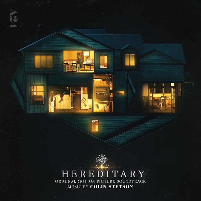 hereditary lp cover v1 Colin Stetson scores new horror film Hereditary, shares Origins of Funeral: Stream