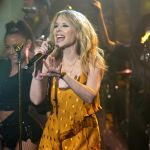Kylie Minogue on Late Night with Seth Meyers