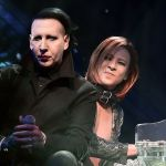 Marilyn Manson with X Japan