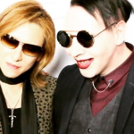 X Japan's Yoshiki and Marilyn Manson