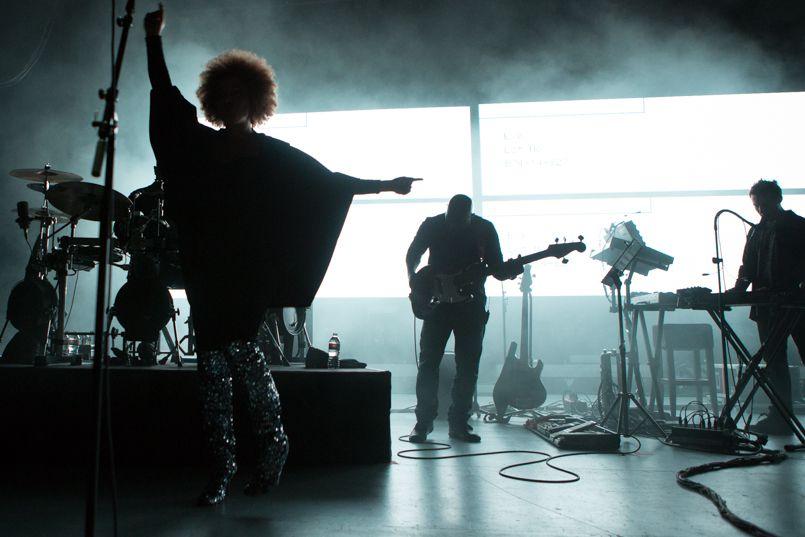 Massive Attack, photo by Philip Cosores