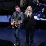 Patti Smith and Bruce Springsteen, photo via Twitter/@BeaconTheatre