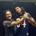 Eddie Vedder with Sergio Vedder