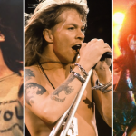 Pearl Jam, Guns N' Roses, and U2