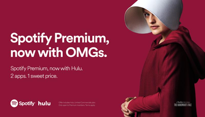 spotify hulu joint subscription plan1 Spotify and Hulu to offer joint subscription plan