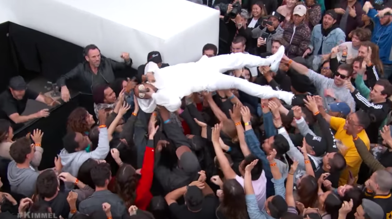 Anderson Paak and The Free Nationals Bubblin Jimmy Kimmel Live