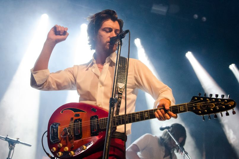 Arctic Monkeys -- Photo by Ben Kaye