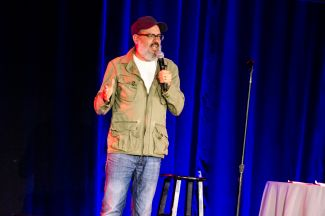 David Cross, photo by Ben Kaye