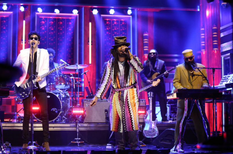 Chromeo, DRAM, Jesse Johnson, The Roots on The Tonight Show