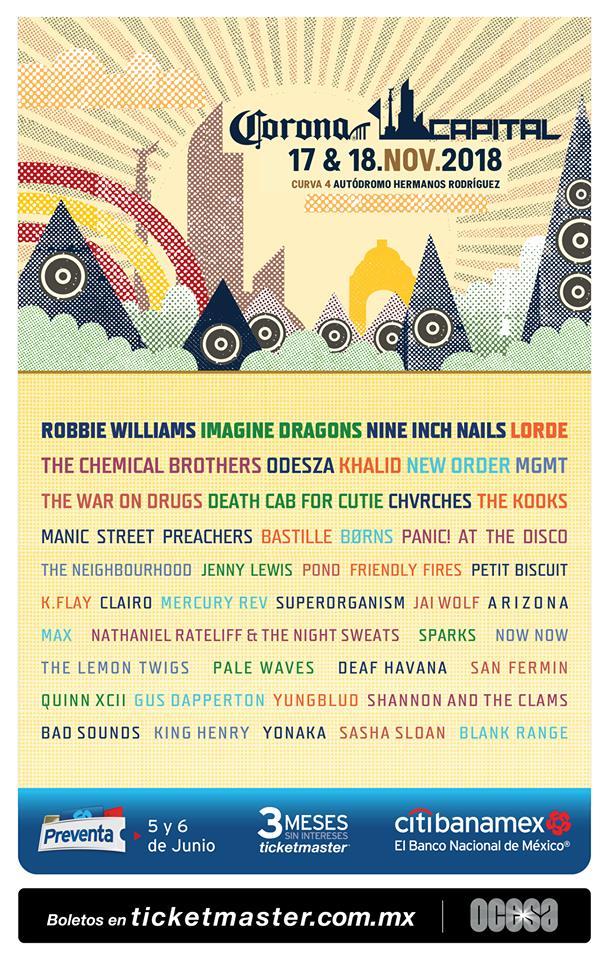 Corona Capital 2018 lineup