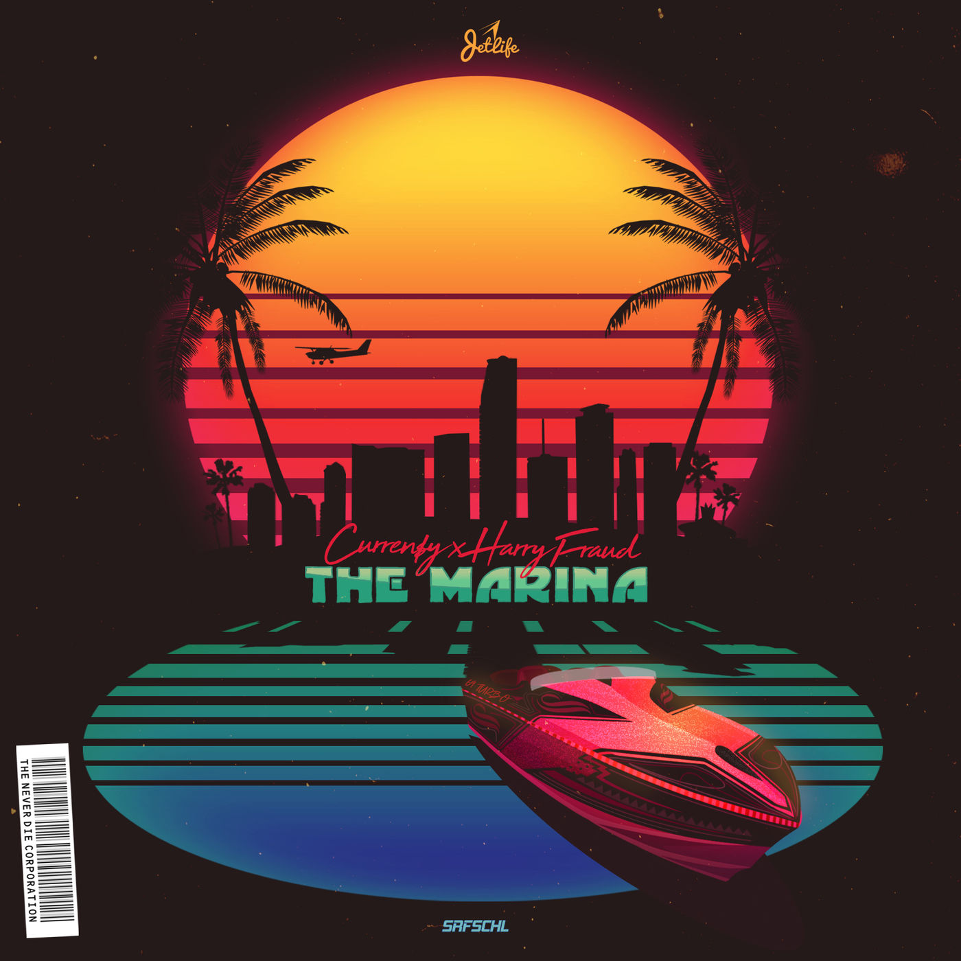 Currensy Curren$y The Marina EP Artwork Cover Harry Fraud