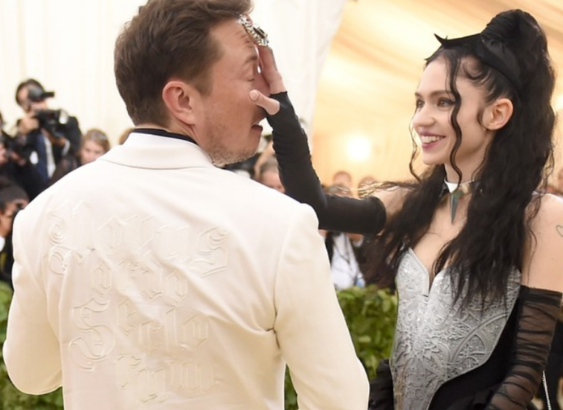 Grimes to change her name because of Elon Musk