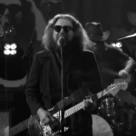 Jim James Just a Fool The Late Show with Stephen Colbert Black and White