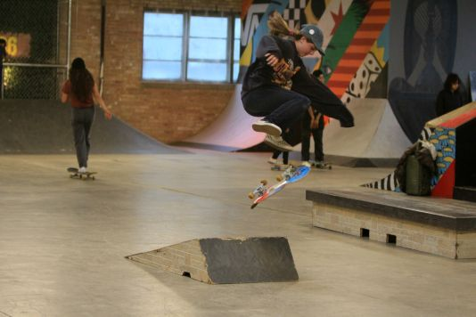Get on Board at Chicago's House of Vans, photo by Heather Kaplan