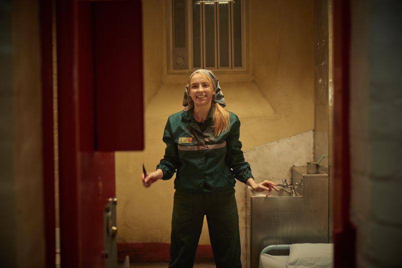 Jodie Comer Killing Eve Villanelle BBC America Take Me To The Hole