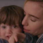 Lykke Li with her son