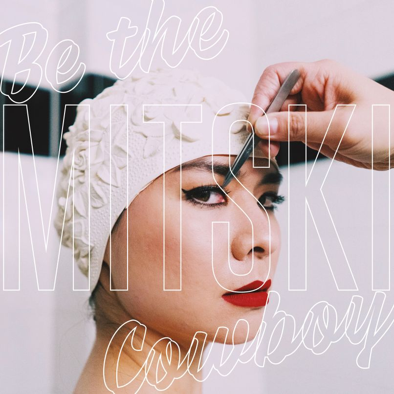 Mitski Be the Cowboy Cover Album Artwork Makeup