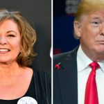 Roseanne Barr and Donald Trump